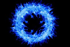 Free Fractal Art, Electric Blue, Organism, Special Effects Royalty Free Stock Photos - 95894328