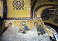 Free Mosaic Of Jesus Christ In Church Of Hagia Sofia Royalty Free Stock Photography - 9593067