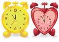 Free Two Alarm Clocks Royalty Free Stock Photo - 9597495
