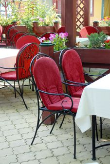 Free Restaurant Terrace Stock Images - 9590064