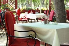 Free Restaurant Terrace Stock Photography - 9590142