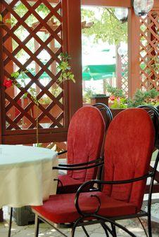 Free Restaurant Terrace Stock Image - 9590211