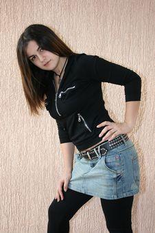 Free Pretty Brunette Girl Stock Photos - 9590533