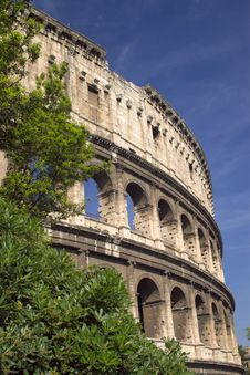Free Coliseum Fragment Stock Photography - 9590732