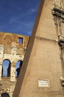 Free Coliseum Fragment Stock Photos - 9590763