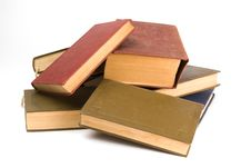 Free Pile Of Books - Isolated On White Background Stock Images - 9590824