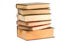 Free Stack Of Old Books Royalty Free Stock Photos - 9590838