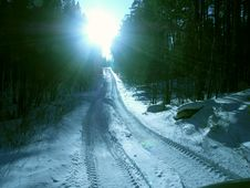 Free Road To Paradise Stock Images - 9591044