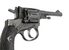 Free Old Revolver Royalty Free Stock Image - 9591136