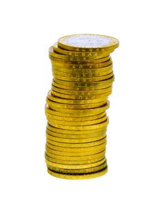 Free Pile Of Coins Royalty Free Stock Images - 9591259