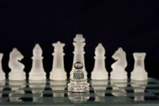 Free A Chess Team Royalty Free Stock Images - 9592079