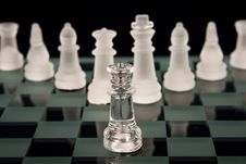 A Chess Team Stock Image
