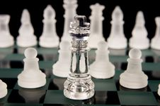 A Chess Team Royalty Free Stock Image
