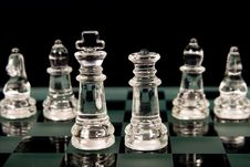 A Chess Team Royalty Free Stock Photography