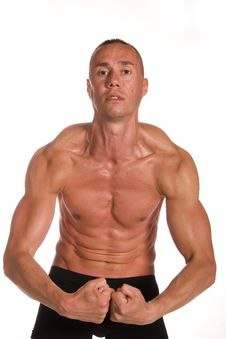 Free Muscular Male Stock Photos - 9592163