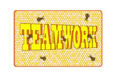 Free Teamwork Bees Stock Photography - 9592252