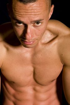 Free Muscular Male Stock Images - 9592374