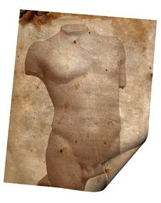 Background Image With Torso Stock Images