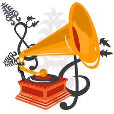 Free Gramophone Stock Photo - 9592840