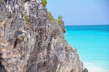 Free Caribbean Coast Of Tulum Royalty Free Stock Photos - 9593378