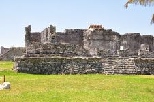 Free Tulum Ruins Royalty Free Stock Photography - 9593457