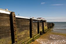 Free Cromer Pier And Groyne Royalty Free Stock Image - 9594616