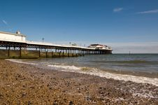 Free Cromer Pier From The Beach 2 Royalty Free Stock Photo - 9594675