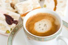 Coffee And Snacks Stock Photos