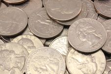 Free US Quarter Background Stock Images - 9594884