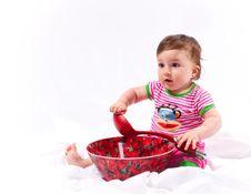Free Happy Baby Royalty Free Stock Photo - 9595265