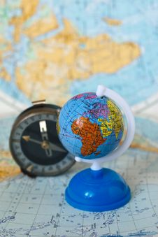 Free Globe And Compass Stock Photos - 9596443