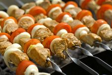 Free Shashlik Royalty Free Stock Images - 9597189