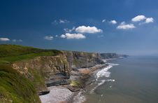 Free Cliffs Of Southerndown Stock Photography - 9597962