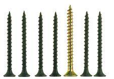 Free Black And Brass Angled Screws Stock Image - 9598181