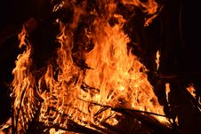 Free Fire, Flame, Campfire, Bonfire Stock Image - 95903731