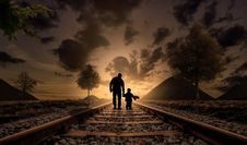 Free Track, Sky, Nature, Photography Stock Photography - 95906562