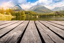Free Lake Forest And Mountains Royalty Free Stock Photography - 95931767