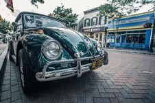 Free Vintage Car On Streets Of Annapolis, Maryland Royalty Free Stock Image - 95931796