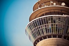 Free Beige Concrete Tower Stock Image - 95996901
