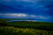 Free Bay Or Estuary At Dawn Royalty Free Stock Photography - 95997187