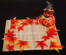 Free Halloween Autumn Decoration Stock Image - 95997201