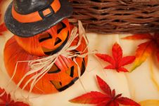 Free Orange Halloween Decoration Royalty Free Stock Photos - 95997338