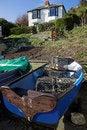 Free Fishermans Boat Stock Image - 966801