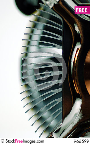 Free CPU Heat Sink Fin Royalty Free Stock Images - 966599