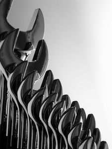 Free Set Of Wrenches Royalty Free Stock Photos - 960288