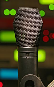 Condenser Microphone Stock Images