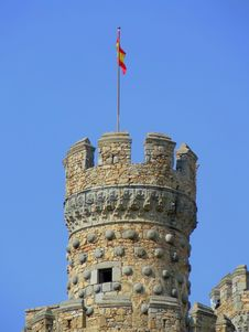 Free Flag On A Tower Stock Photo - 961240