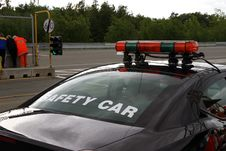 Circuit Safety Car Royalty Free Stock Photo