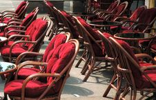 Free Seats In Caffe II Royalty Free Stock Image - 962146