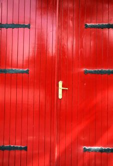 Free Red Door II Stock Photography - 962182